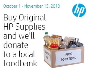 Hp Supplies For Food Banks Square